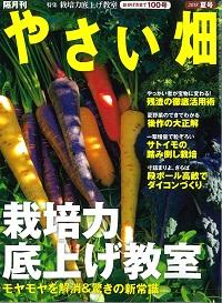 やさい畑夏号7月3日発売