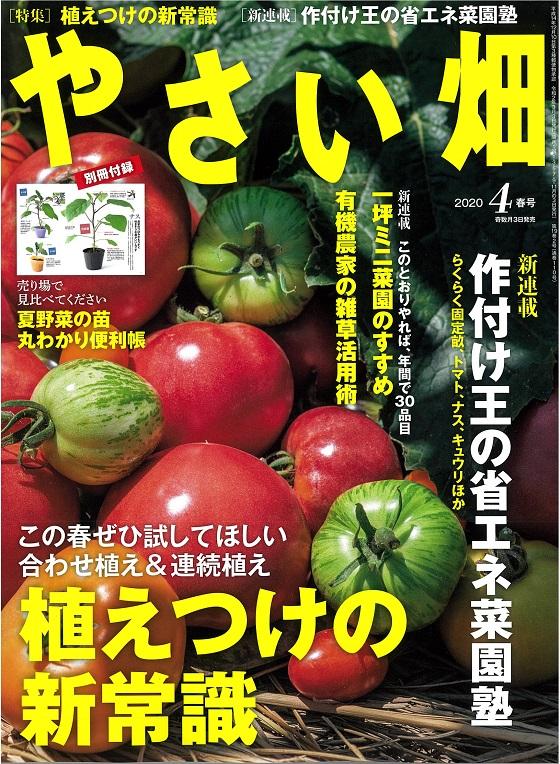 やさい畑春号 3月3日発行